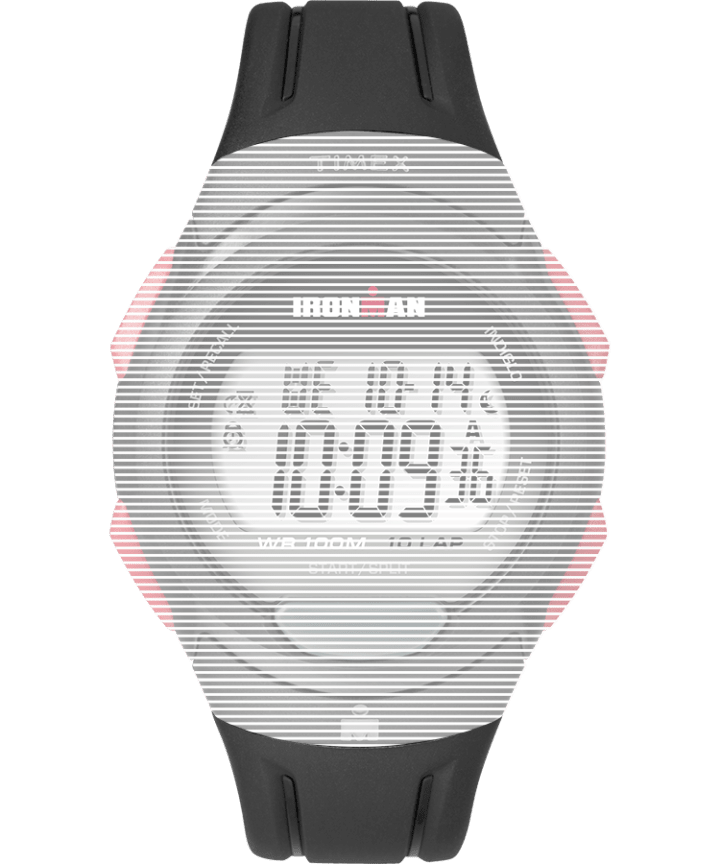 Replacement 16mm Matte Resin Strap for Ironman® Essential 10 Full-Size Black large