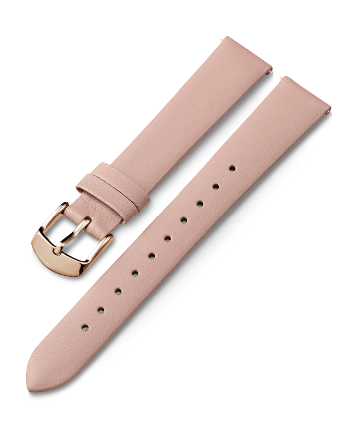16mm Leather Strap Pink large