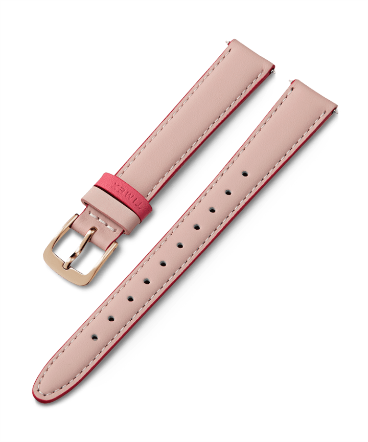 14mm Leather Strap with Colored Keeper  large