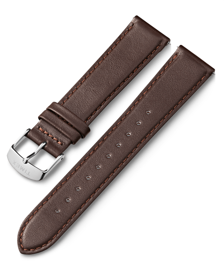 20mm Leather Strap with Quick Release 1  large
