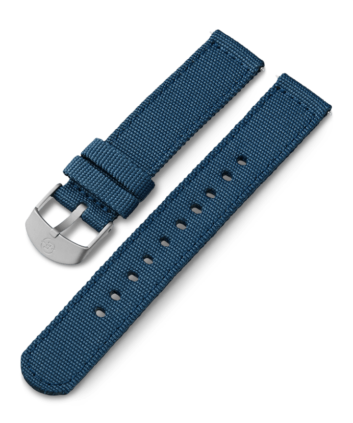 18mm Fabric Strap Niebieski large