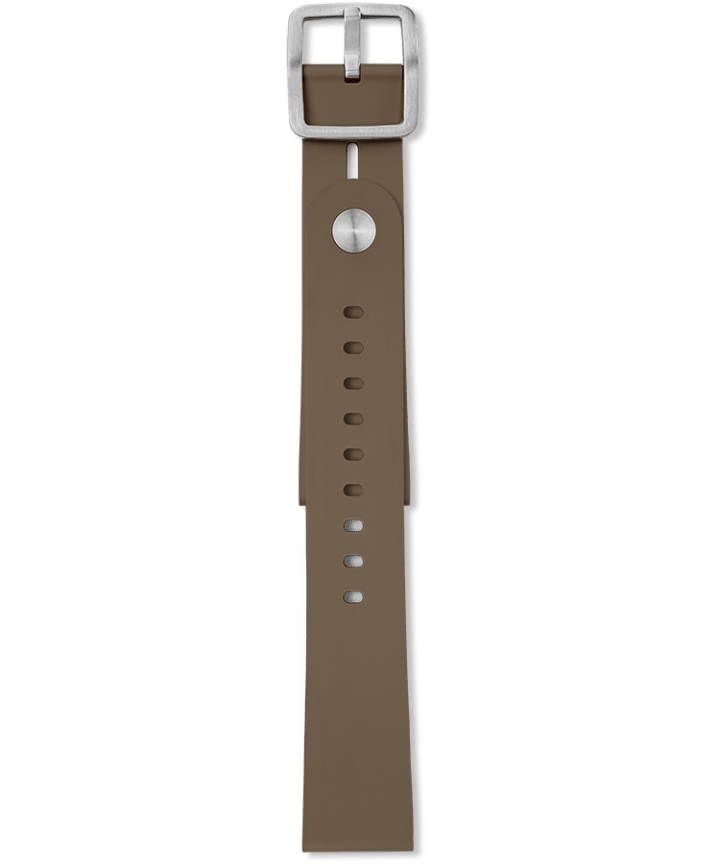 Giorgio Galli S1 Automatic 20mm Soft Synthetic Rubber Strap Brown large