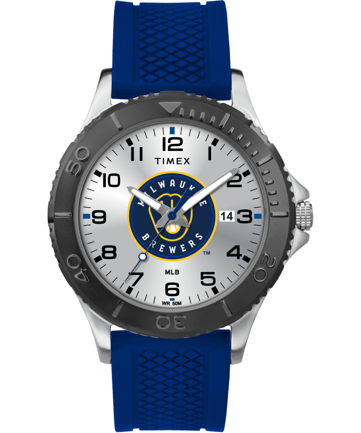 Gamer Navy Milwaukee Brewers  large