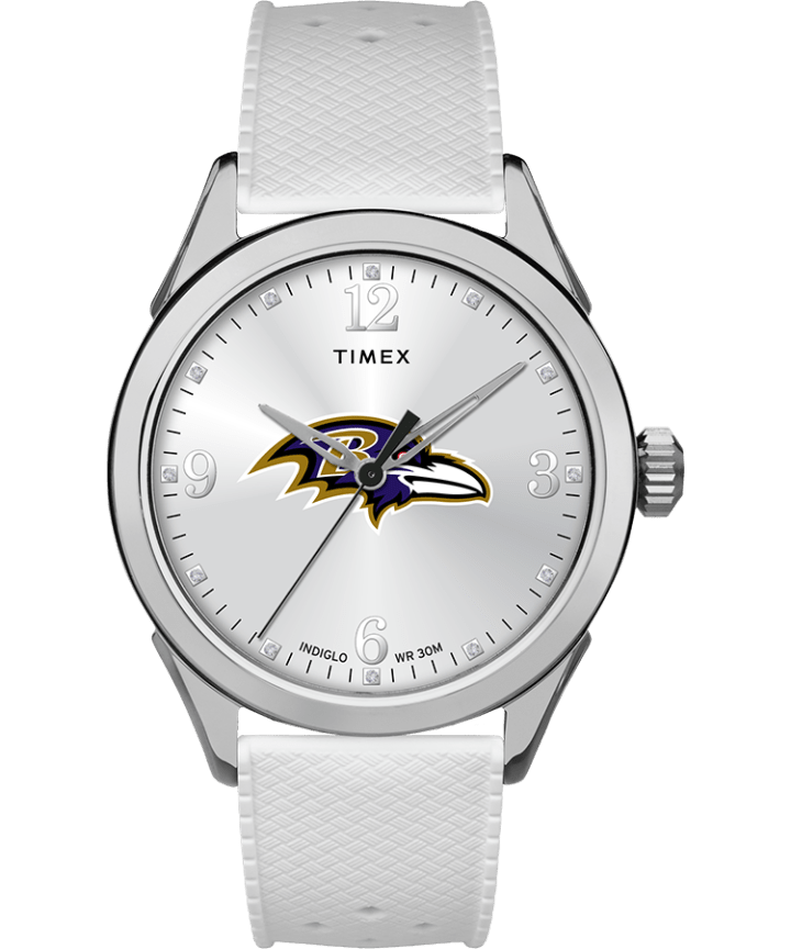 Athena White Baltimore Ravens  large