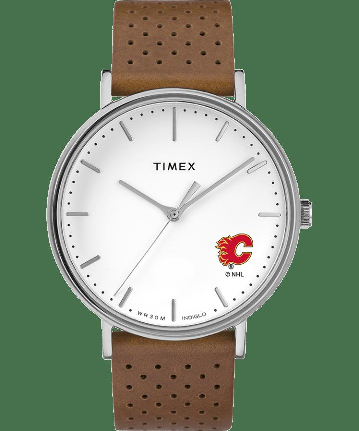 Bright Whites Calgary Flames  large