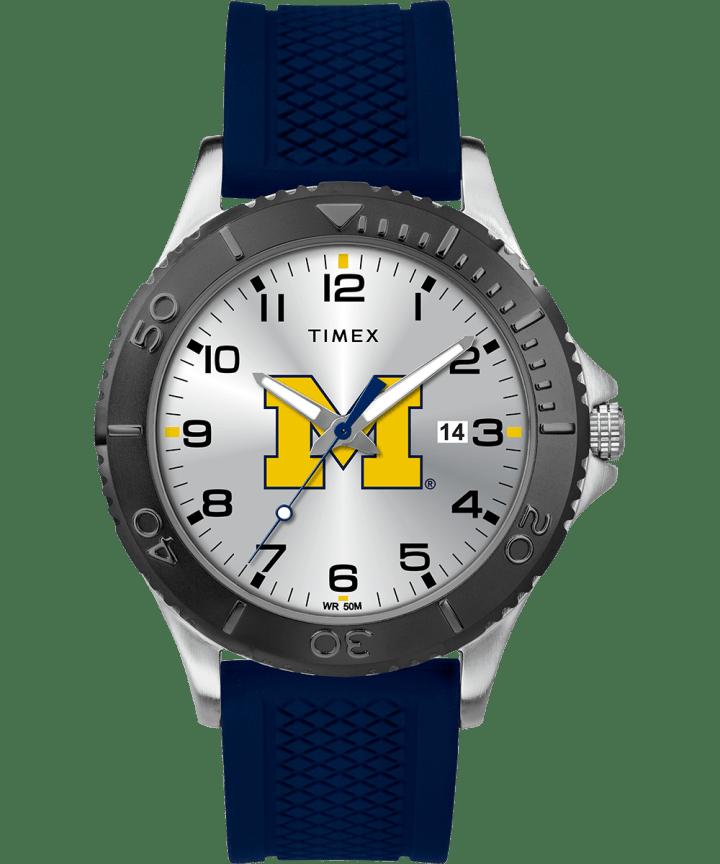 Gamer Navy Michigan Wolverines  large