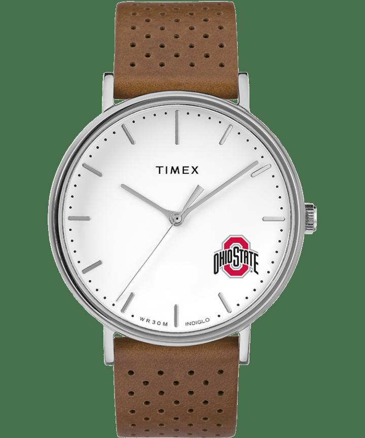Bright Whites Ohio State Buckeyes  large