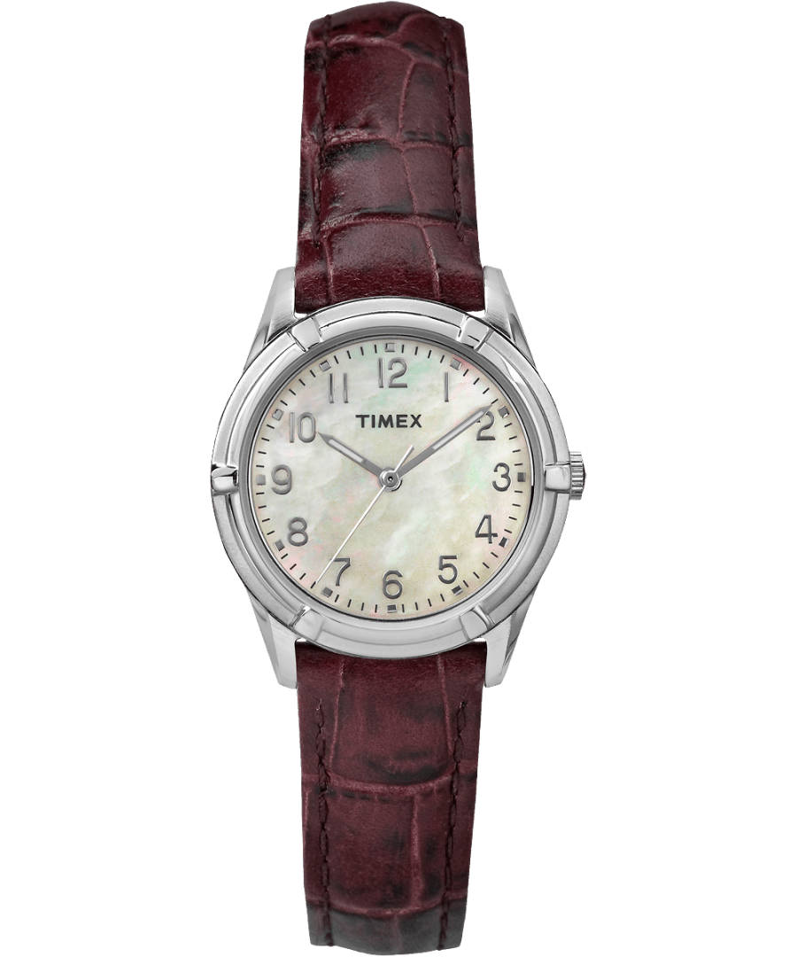 Easton Avenue Mother of Pearl 27mm Leather Strap Watch