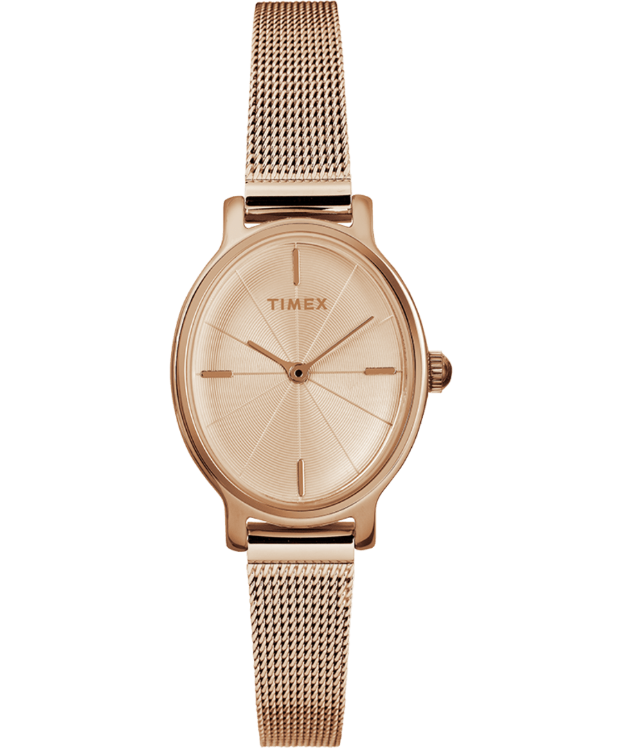 Milano Oval 24mm Mesh Band Watch