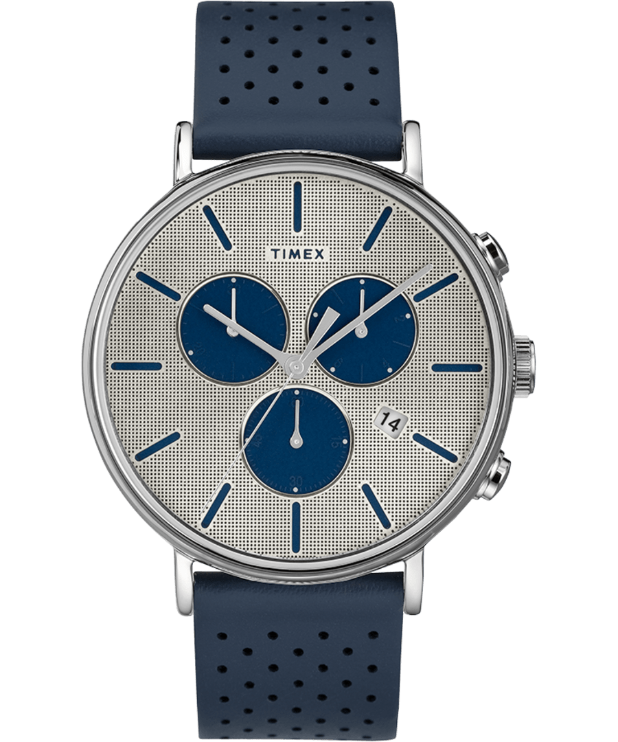 Fairfield Supernova Chronograph 41mm Leather Strap Watch