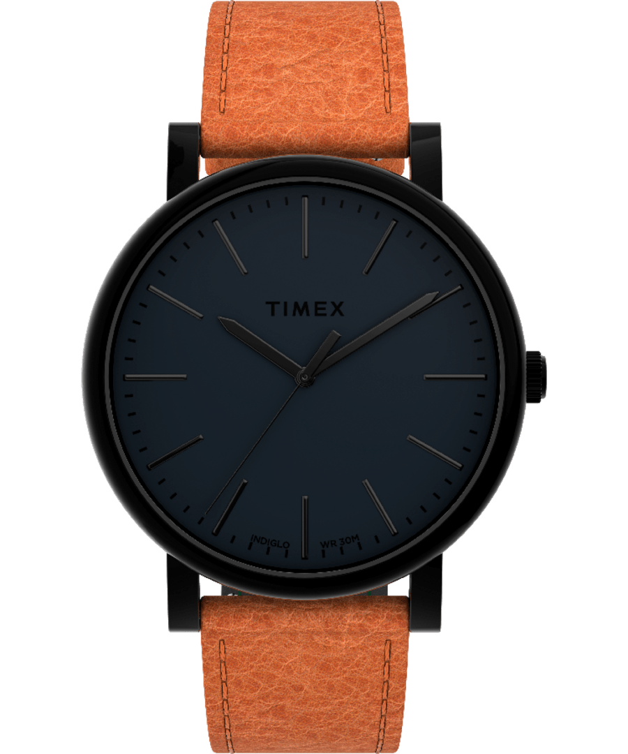 Originals 42mm Leather Strap Watch