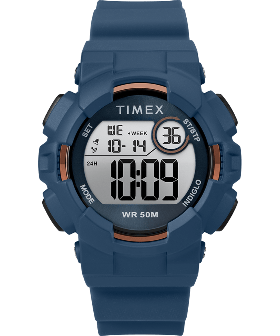 Mako DGTL? 44MM Silicone Strap Digital Watch